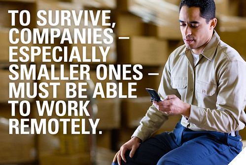 This means access to integrated business applications and making real-time decisions anyplace, anytime.