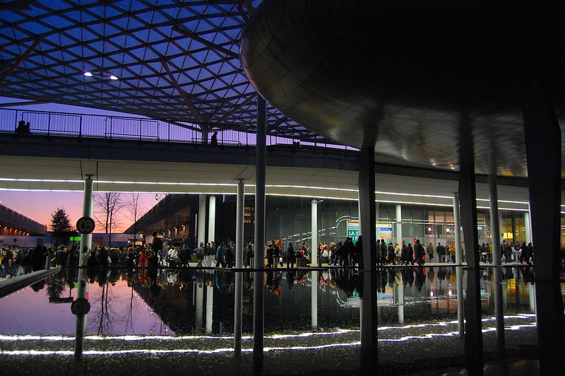 Fiera di Milano Reflections