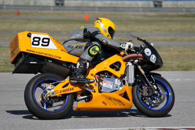 Race Car Motorcycle Powered
