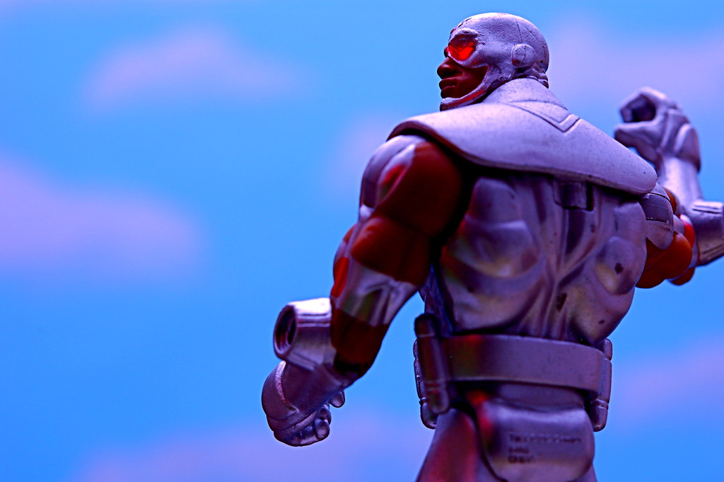 The Cyborg's Back!