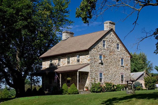 Pennsylvania stone house flickr photo sharing for Pennsylvania stone farmhouses