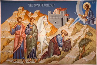 St. Paul on road to Damascus