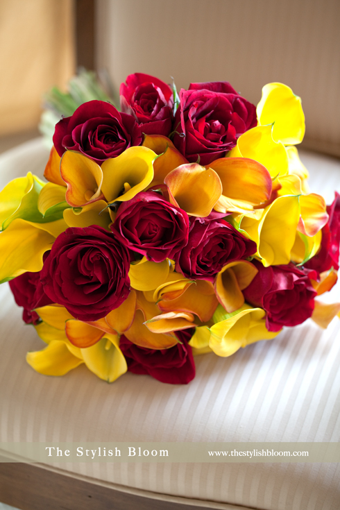 Yellow Wedding Flowers Online : Red and yellow wedding flowers images