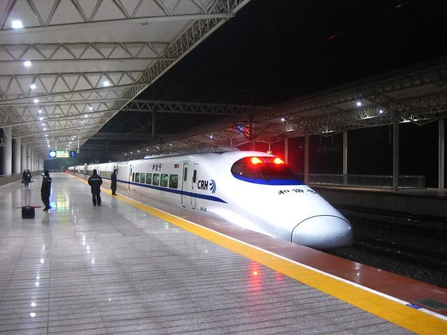 2011/365 D65 - Bullet Train