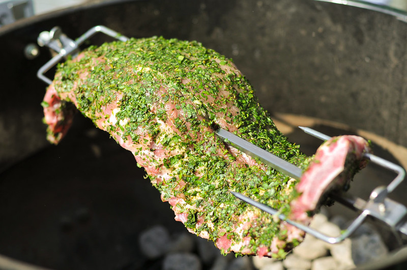 Herbed Encrusted Ribs