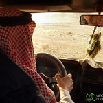 Riding Around in a Bedouin Truck - Feynan, Jordan