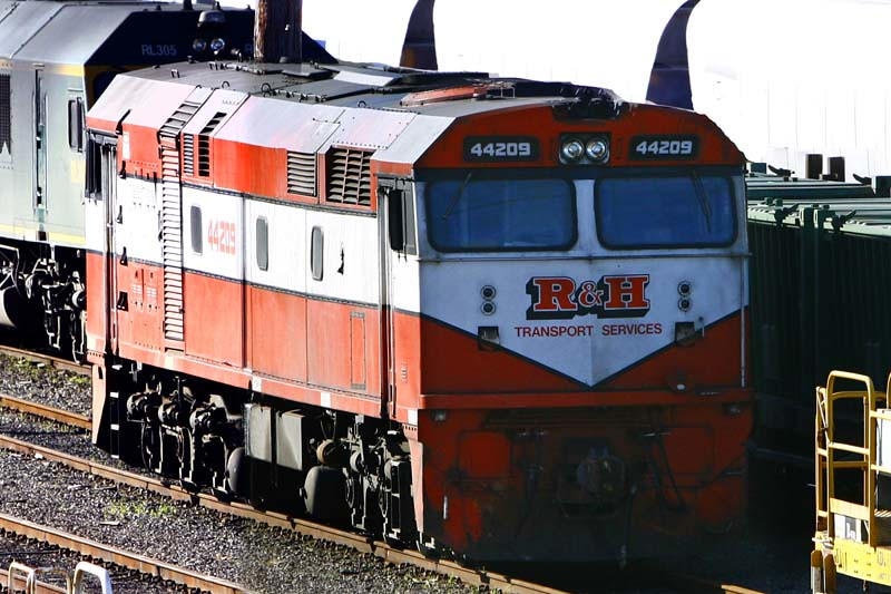 44209 in the Newcastle yard by Corey Gibson