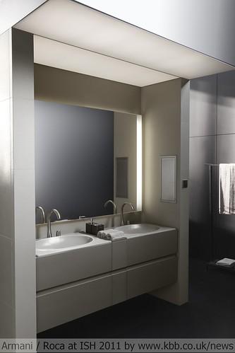 salle de bain armani roca