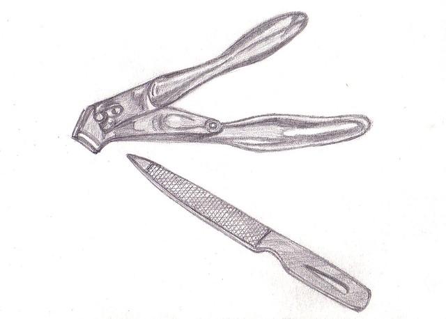 My Drawing ( Nail Clipper & Nail File) | Flickr - Photo ...