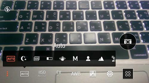 โหมดถ่ายภาพแบบต่างๆ ของกล้อง HTC One M8