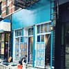 Look! New Mexico turquoise has arrived in #Harlem! The old 5 and Diamond place on FDB is being transformed into RDV Bistro!