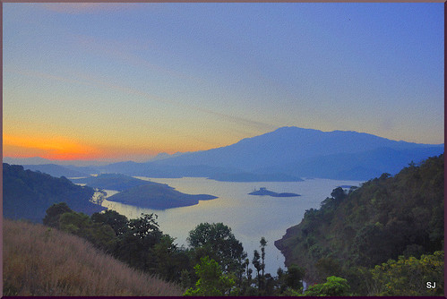sunrise painting canvas hdr