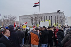 Egyptian Embassy Protest 1853