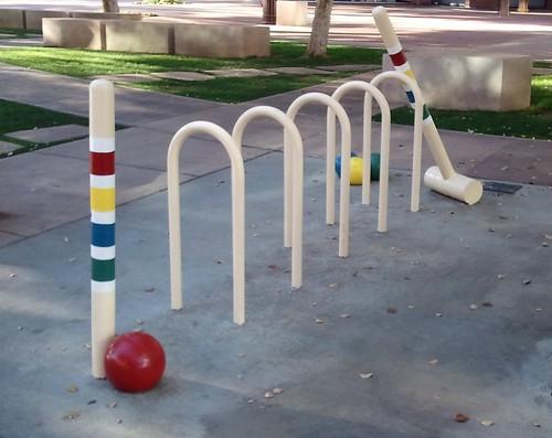Croquet Court Bicycle Rack