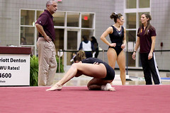 TWU Gymnastics - Amy Winczura Floor