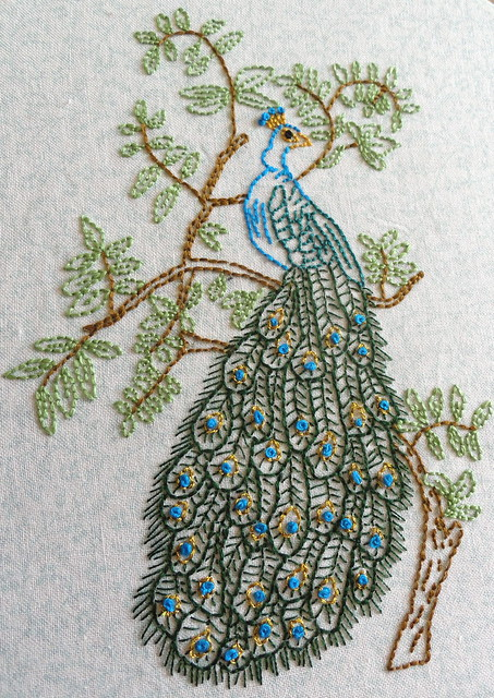 Peacock Embroidery  Flickr  Photo Sharing