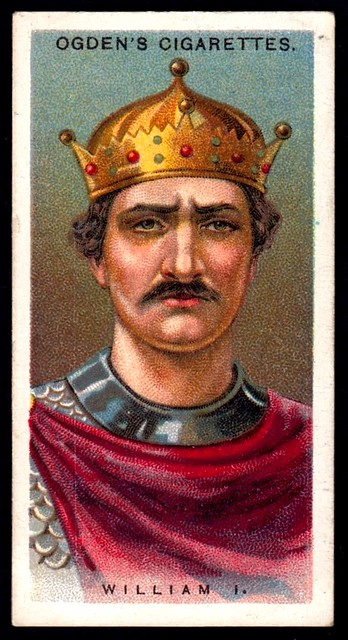 Cigarette Card - William the Conqueror