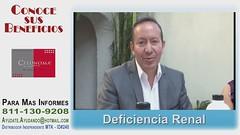 con CELUNOMA - me ayudo con mi Deficiencia Renal