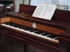 computer component(0.0), electronic device(0.0), digital piano(0.0), organ(0.0), electronic instrument(0.0), string instrument(0.0), celesta(1.0), piano(1.0), musical keyboard(1.0), keyboard(1.0), fortepiano(1.0), spinet(1.0), electric piano(1.0), player piano(1.0),