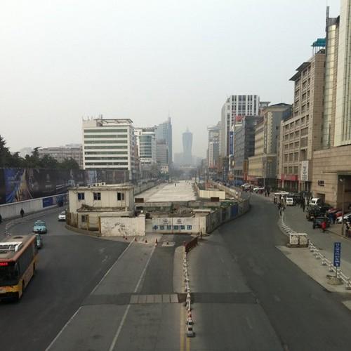 我发现了杭州中轴线