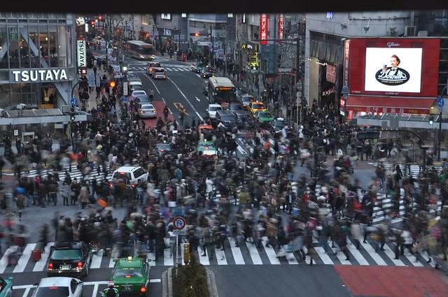 Crossroad at Shibuya #1 -交差点@渋谷-