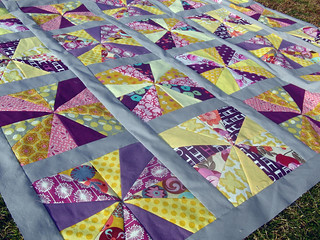 Rain or Shine Quilt Top