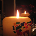 New Year's candles