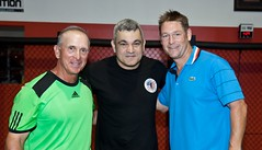 Master Liborio with USTA National Coaches
