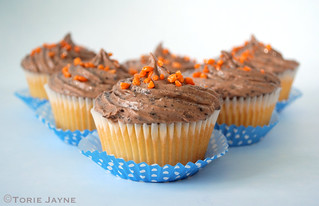 Jaffa Cupcakes