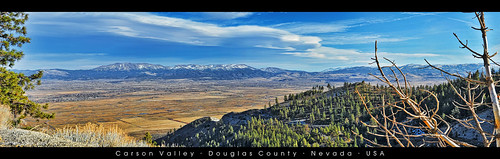 travel blue winter usa clouds carson photography nikon nevada sunny panoramic nv valley handheld nikkor minden lenticular carsonvalley us395 douglascounty gardnerville kingsburygrade d700 gardnervilleranchos afs2470mm nxtrfoto nextierphotography stateroute207