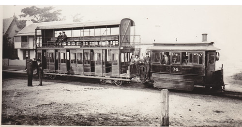When steam trams ruled in Sydney! The  Woollahra Steam Tram