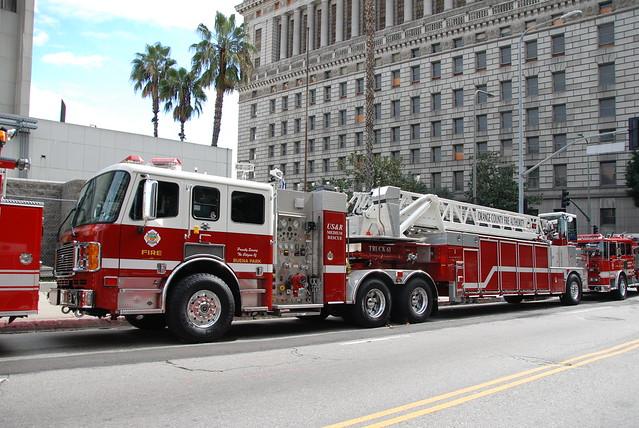 ORANGE COUNTY FIRE AUTHORITY OCFA QUINT 61 Flickr