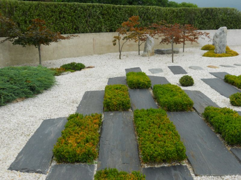 Jardineros en acci n suelos y pavimentos para jard n - Suelos jardin exterior ...