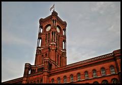 Rotes Rathaus - Alexanderplatz -Berlin- (2)