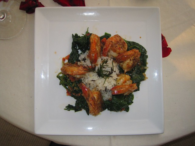el-convento-boutique-restaurant-romantic-dinner-antigua-guatemala-shrimp-scampi