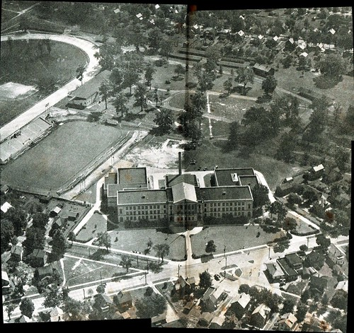 county school ohio fairgrounds high view shot g aerial oh warren elm laird harding hs trumbull wgh
