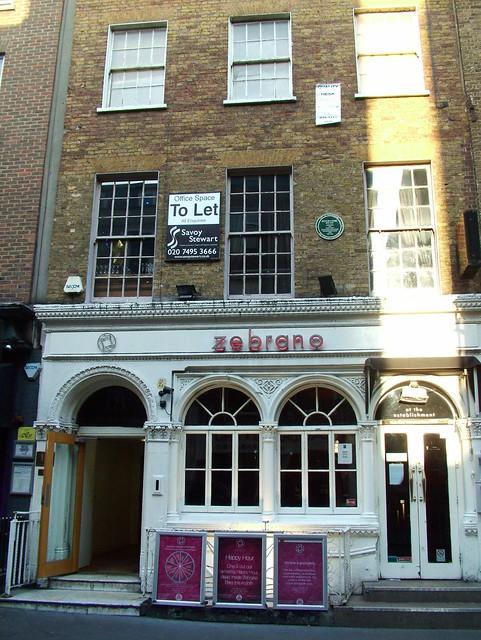 Zebrano | 18 Greek Street London | By: kenjonbro | Flickr - Photo ...