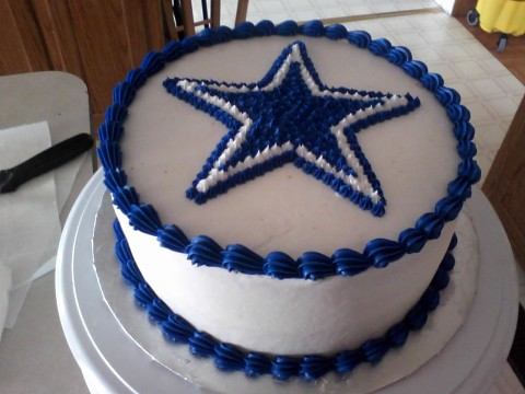 How To Decorate A Football Helmet Cake