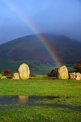 Stone rainbow