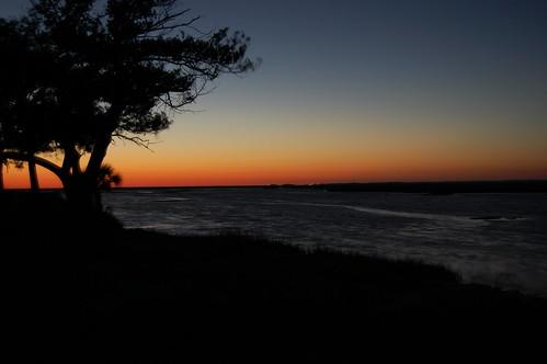 sunset beach twilight darkskies shiredisland
