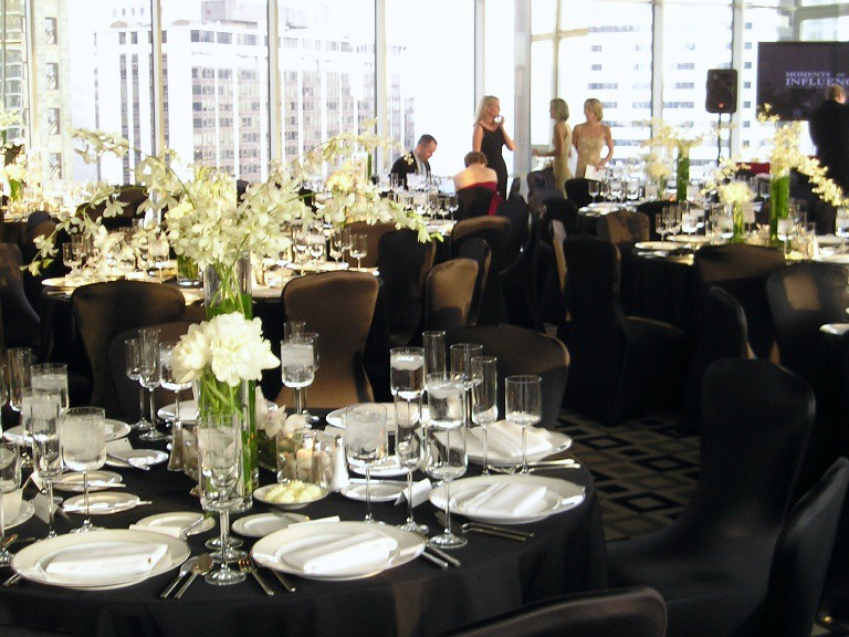 Penthouse Ballroom - Reception Set - Hotel 71, Chicago, United States