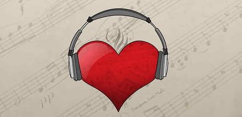MusicHeartHeadphones