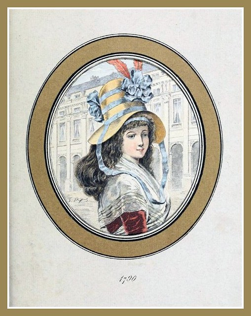 Hats by Madame Bertin 1790