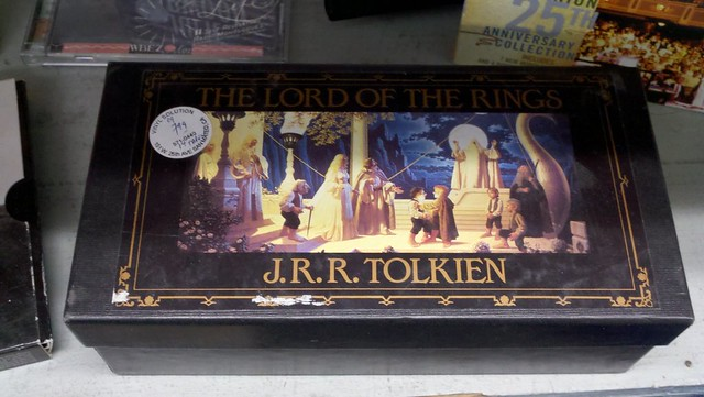 Hobbits and wizards and Sauron--oh, my