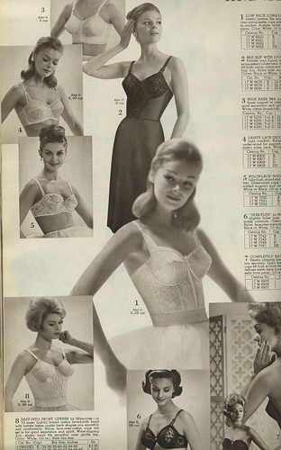 Spiegel 1963 bras and slips