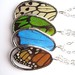 Butterfly, stained glass