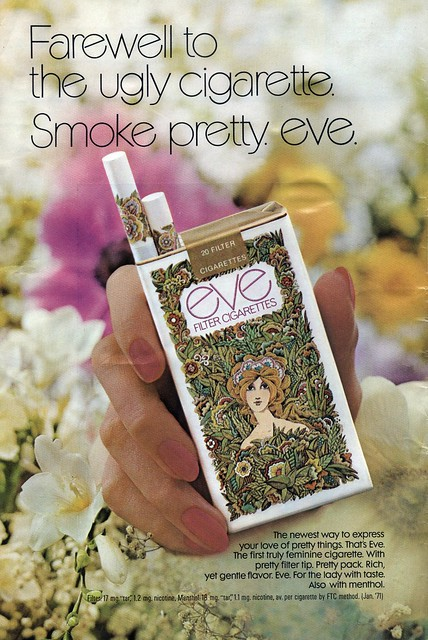 Smoke pretty. eve.