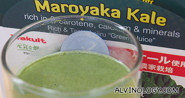 Yakult Heath Foods - Drink Your Vegetables Today with Maroyaka Kale - Alvinology