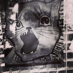 #selfieking #streetart  #tapestry Back Against the Wall  #GRRR