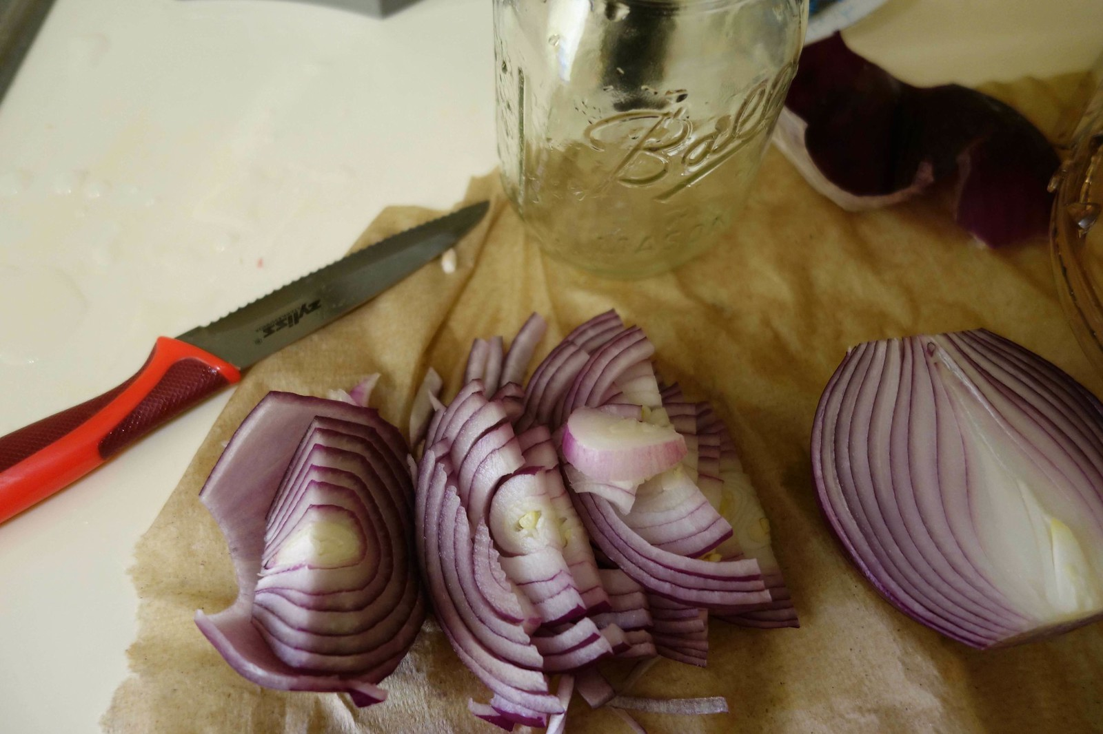 Chopped Red Onions